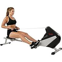 Sunny Health & Fitness Máquina de Remo Magnética Remadora c/Monitor LCD SF-RW5634 de