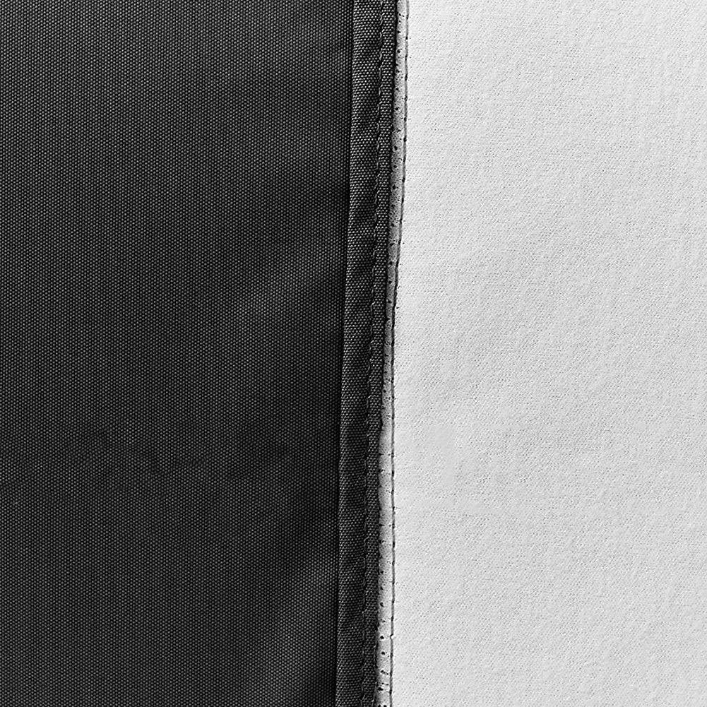 Easels Cubierta Impermeable y Transpirable para barbacoas 210D Tela de Oxford Patio Jardín Cubierta para Parrillas (Color : Negro, Tamaño : 170X61X117cm): ...