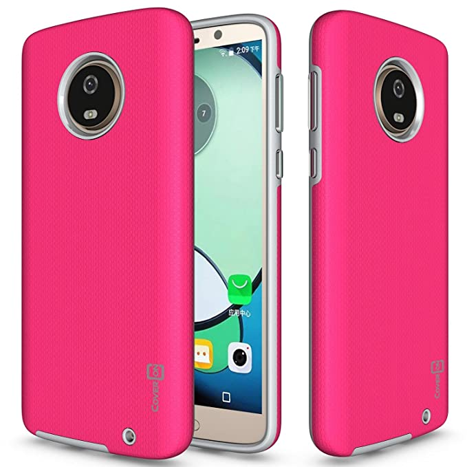 Amazon.com: Moto G6 Plus funda, CoverON [resistente serie ...