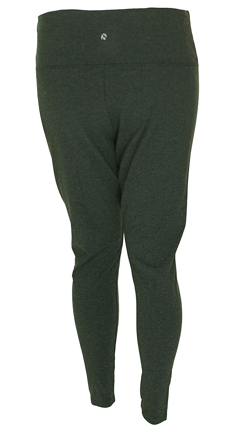 Style & Co. Charcoal Womens Plus Pull-On Legging Pants
