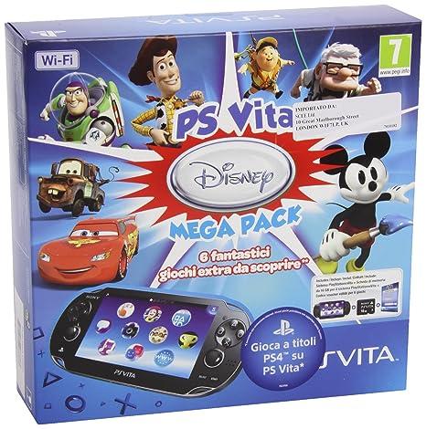 Ps Vita Wi-Fi+Mc 16Gb+Disney Mega Pack [Importación Italiana ...