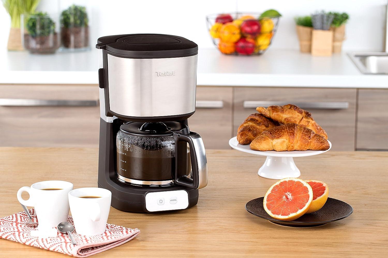 Tefal CM4708 - Cafetera (Independiente, 1000 W): Amazon.es ...