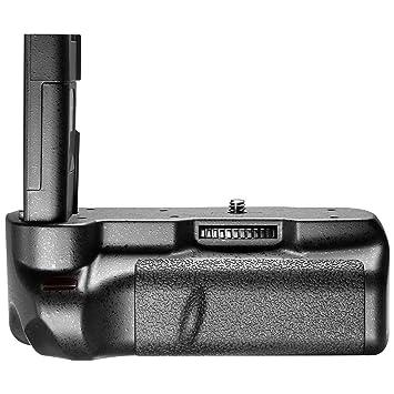 Amazon.com: Neewer Empuñadura de batería compatible para la ...