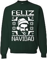 Feliz Navidad Narcos Pablo Escobar Ugly Christmas Sweater Unisex Sweatshirts…