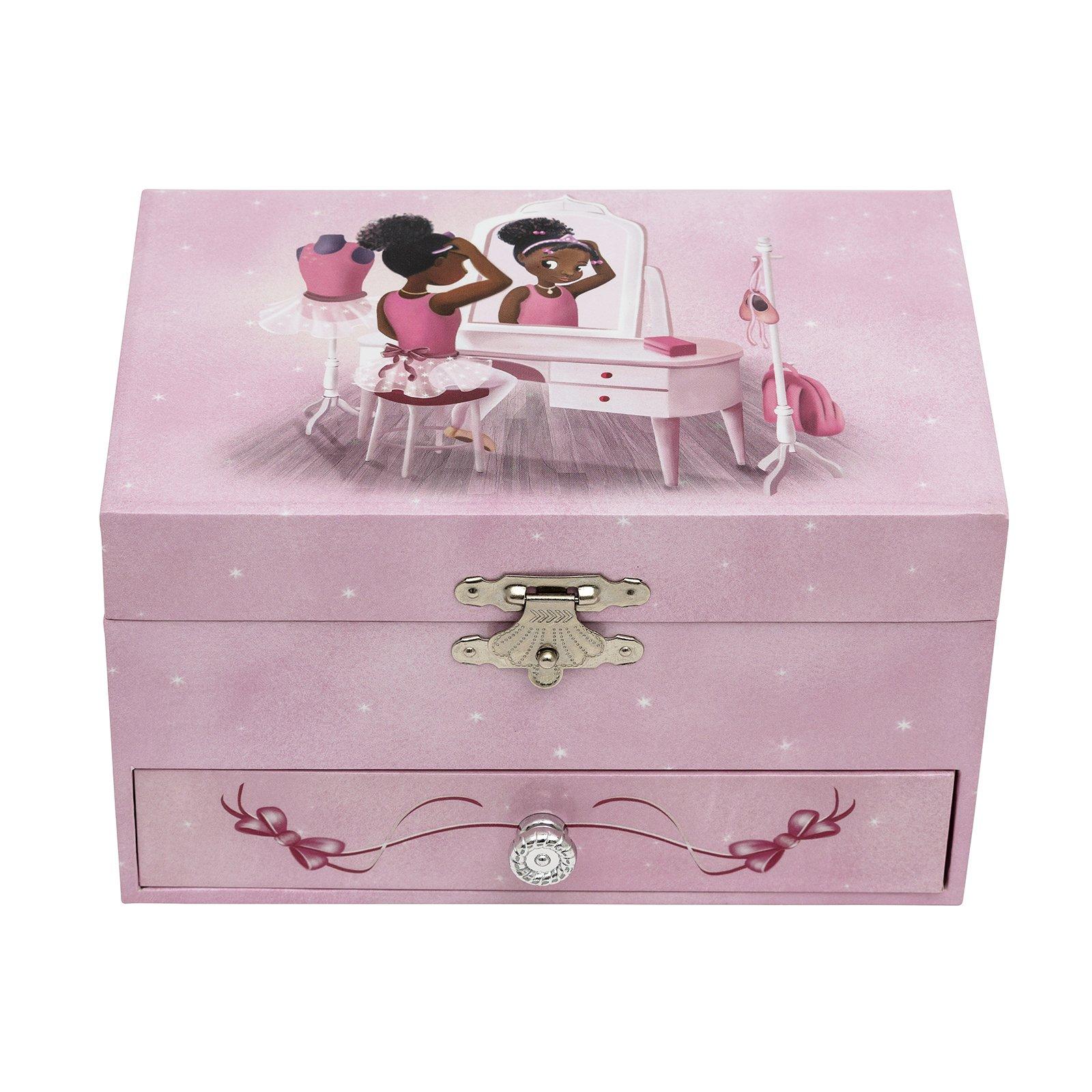 Nia Ballerina Musical Jewelry Box - Dressing Table