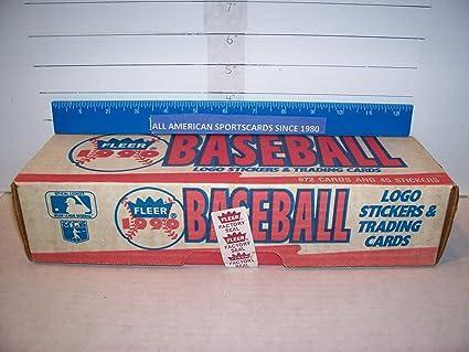 Amazoncom 1990 Fleer Baseball Factory Sealed Set Of 672