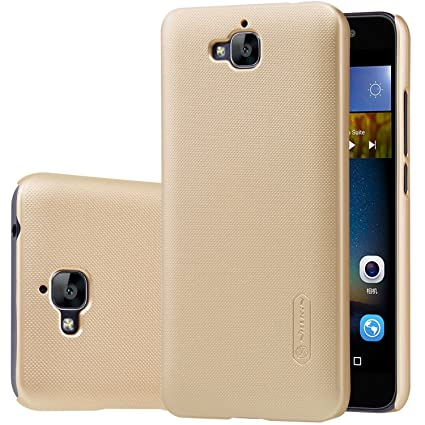 Huawei Y5II case, KuGi Huawei Y5II case PC Hard Case Cover for Huawei Y5II  /Huawei Y5 2 smartphone (Gold)