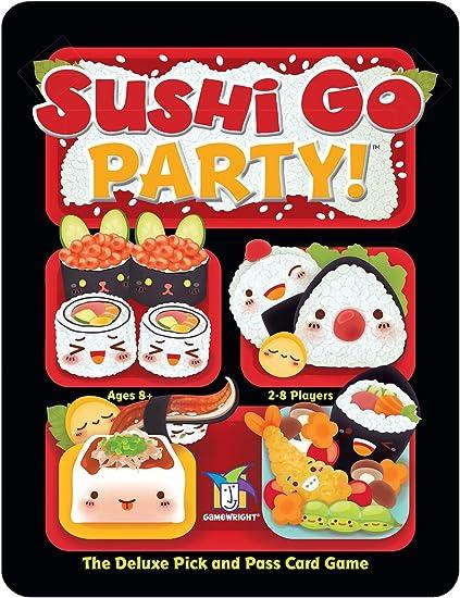 Gamewright Sushi Go Fiesta – El Juego de Cartas: Amazon.es: Juguetes y juegos
