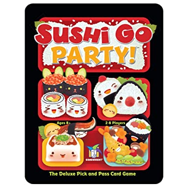 Gamewright Sushi Go Party! - The Deluxe Pick and Pass Card Game