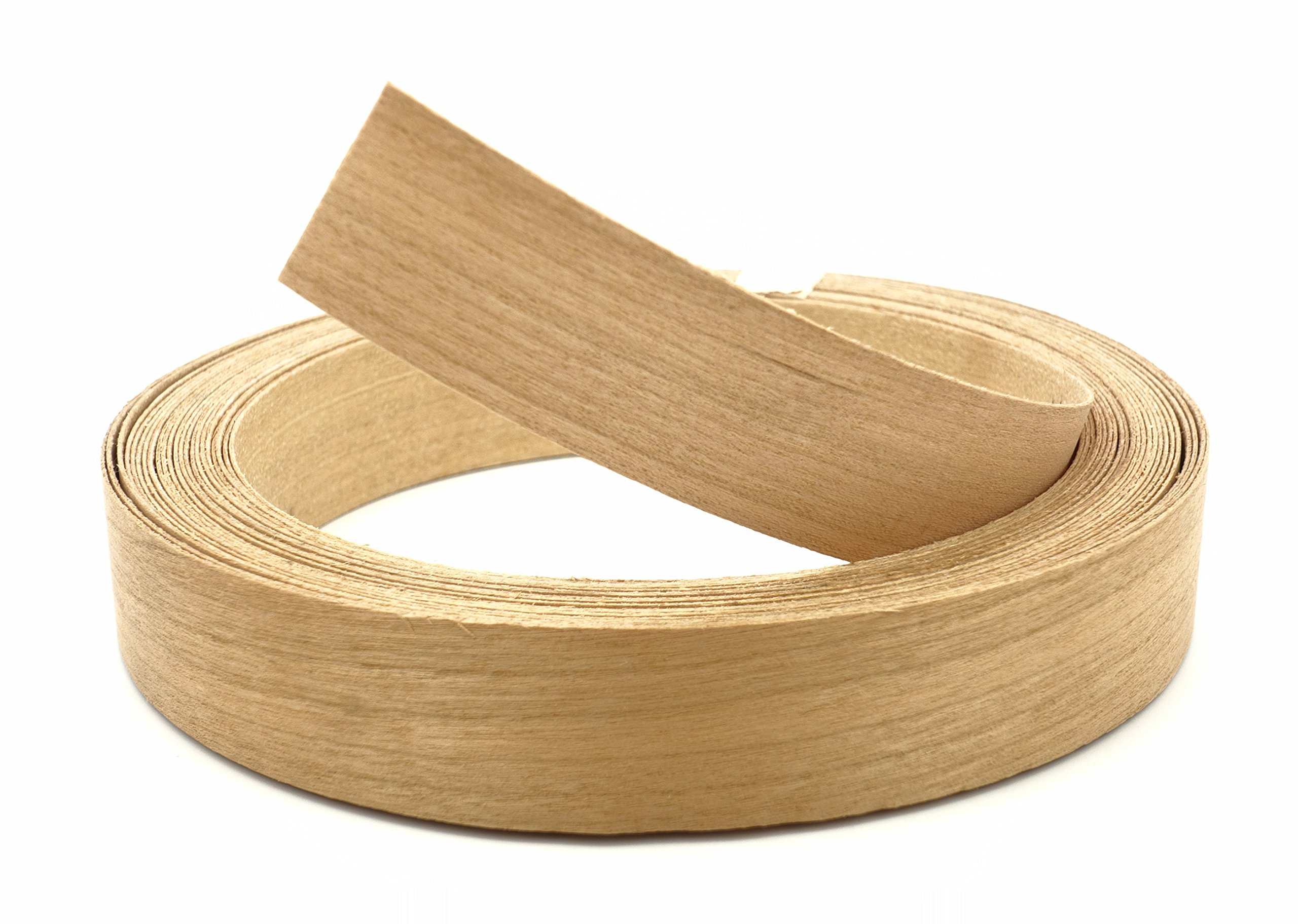 Cherry Wood Veneer Edge Banding Preglued 2'' X 25' Roll