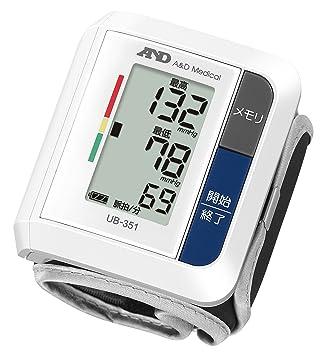 Amazon | A&D 手首式血圧計 UB-3...