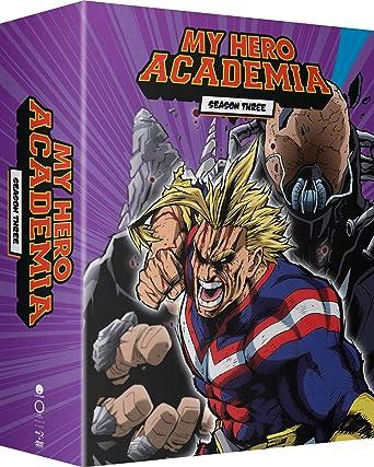 f4446b61 My Hero Academia: Season 3 Part 1 Blu-Ray/Dvd/Digital Limited ...