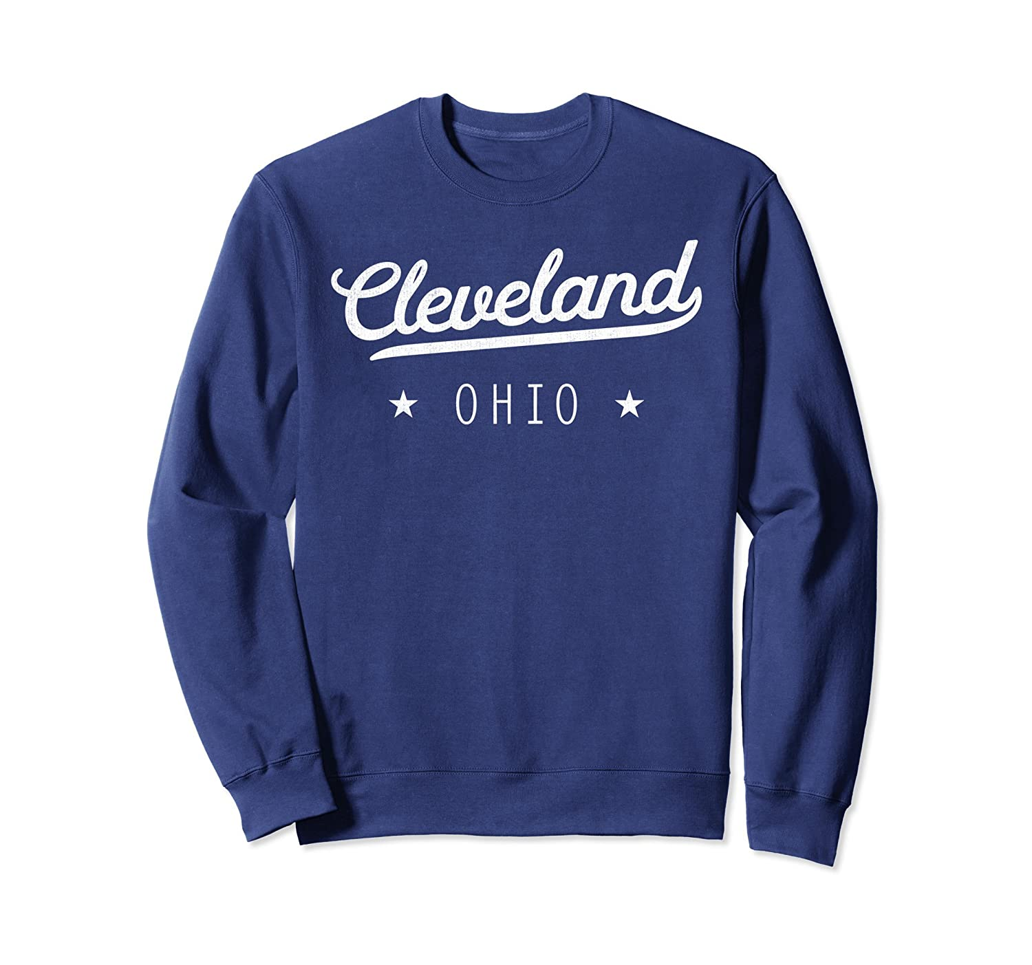 Classic CLE Cleveland The Land Pride Retro Sweatshirt-Teesml