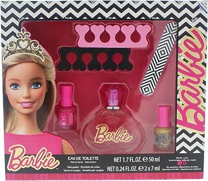 Barbie Set Perfume y Accesorios Manicura - 1 pack: Amazon.es: Belleza