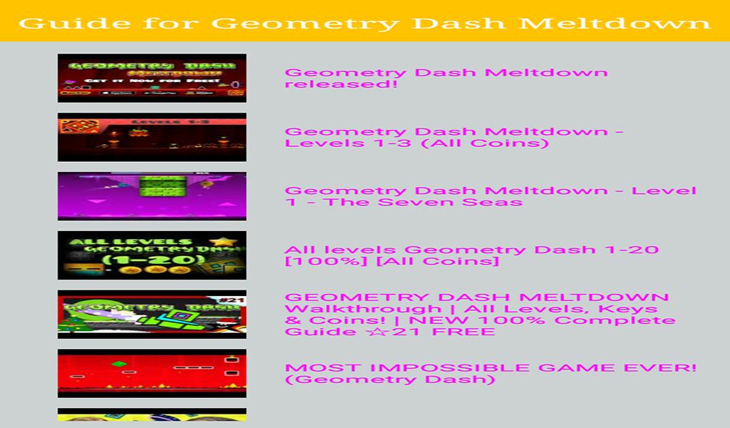 geometry dash meltdown online free full version no download