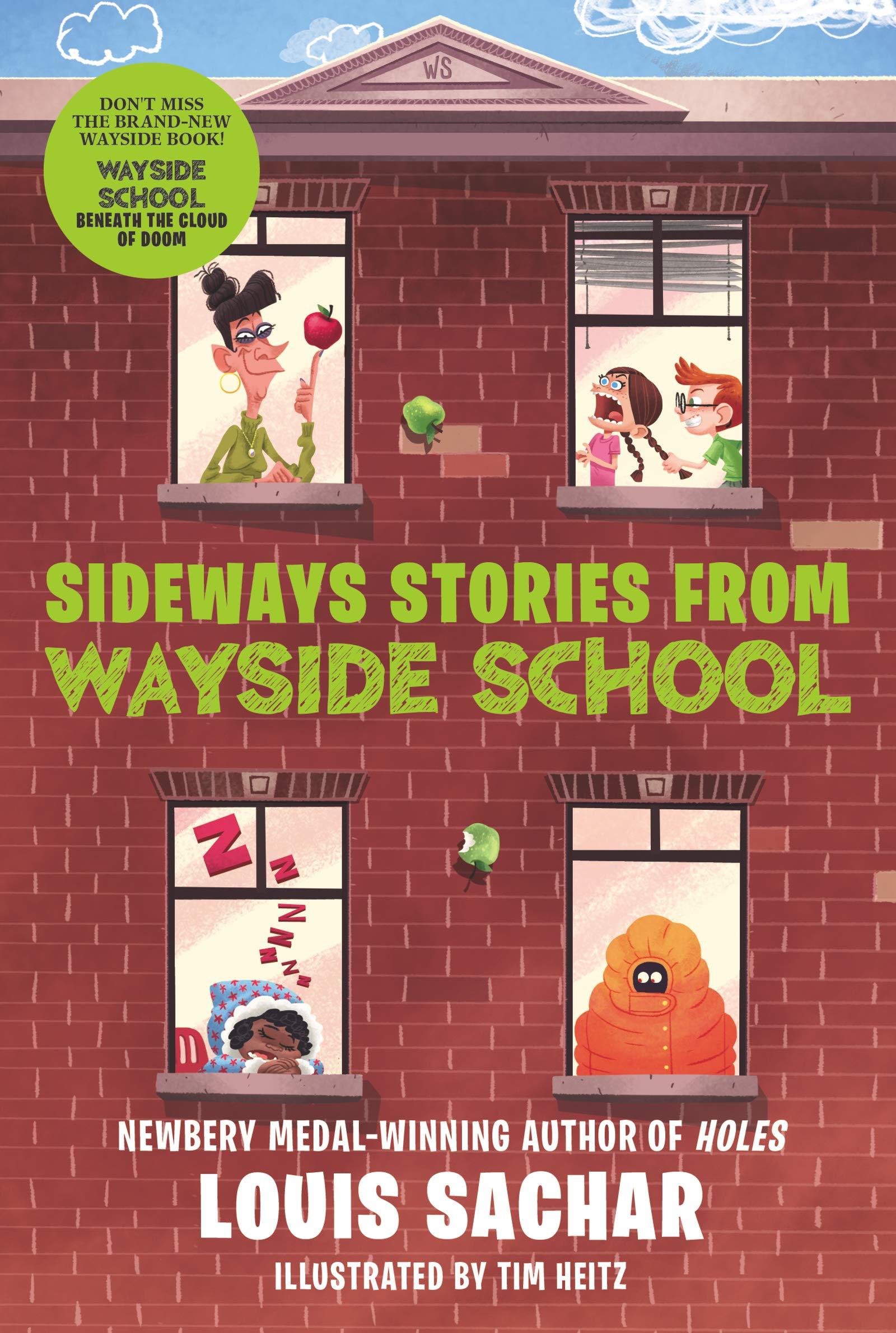 Amazon.com: Sideways Stories from Wayside School: Louis Sachar, Adam  McCauley, Julie Brincklo: Books