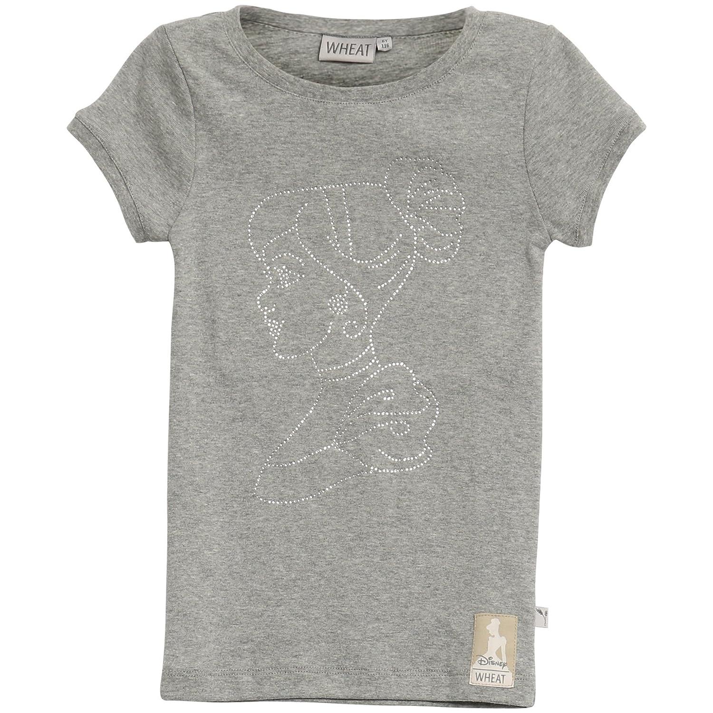 Wheat Mädchen T-Shirt Cinderella Rhinestones Disney 0095-01