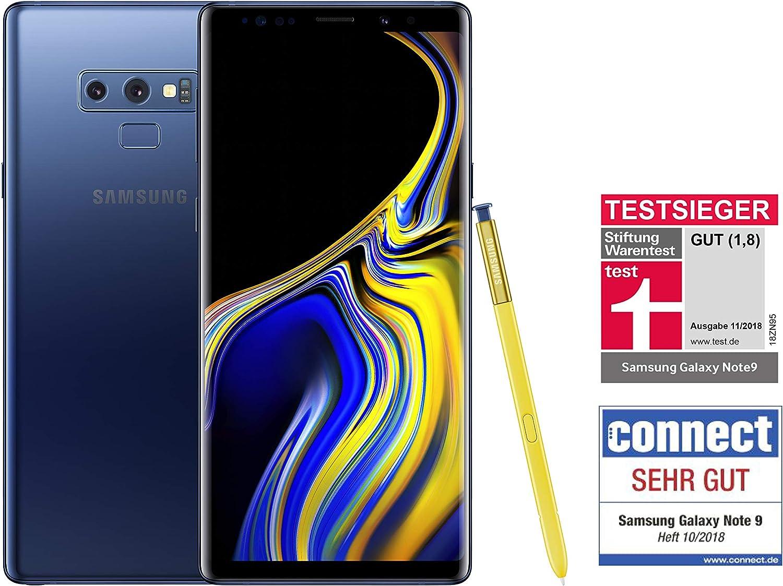 Samsung Galaxy Note 9 Smartphone 128gb Dual Sim Deutsche Version Amazon De Elektronik