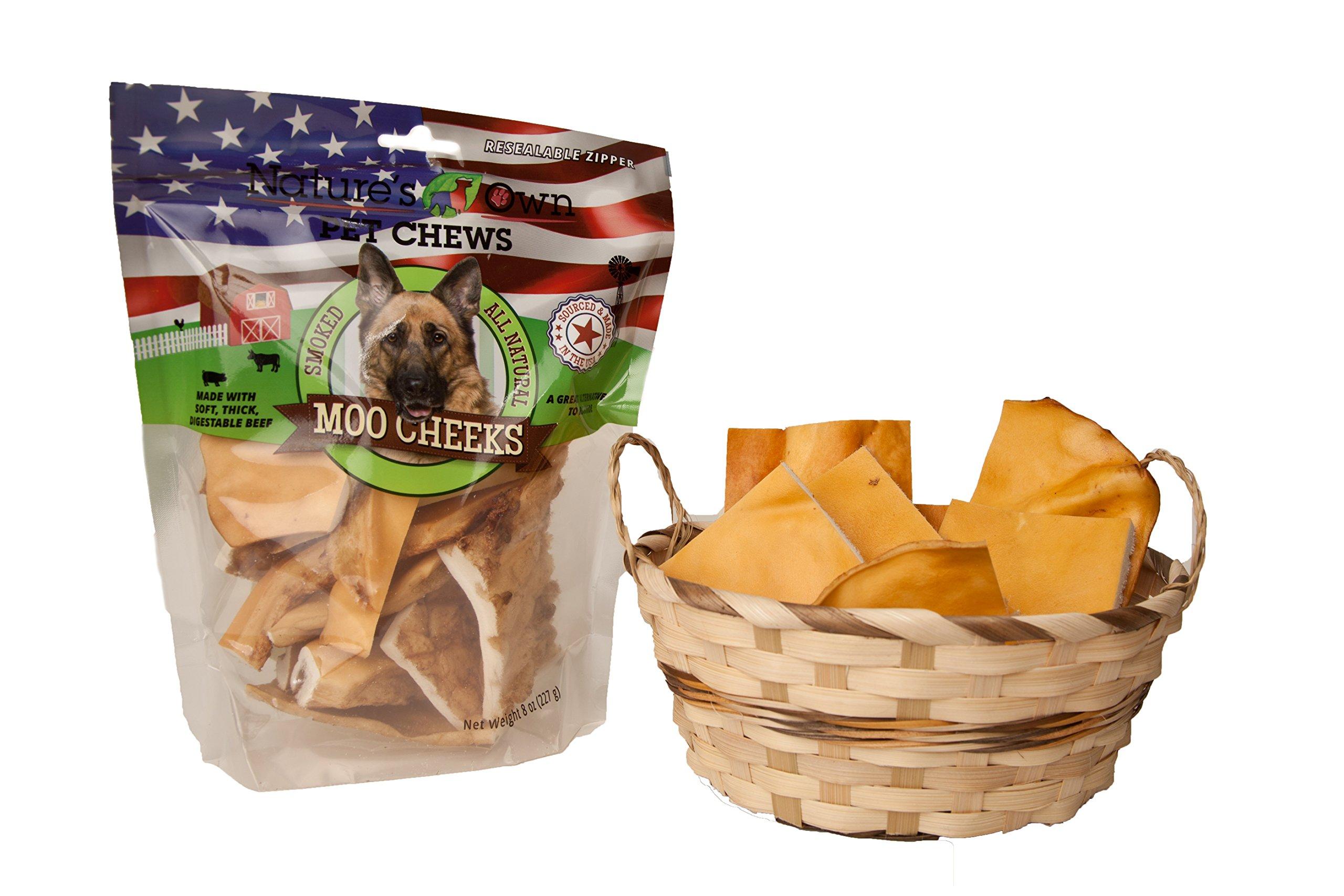 Best Buy Bones Nature's Own Pet Chews Moo Cheeks Bag Treat, 8 oz by Best Buy Bones (Image #2)