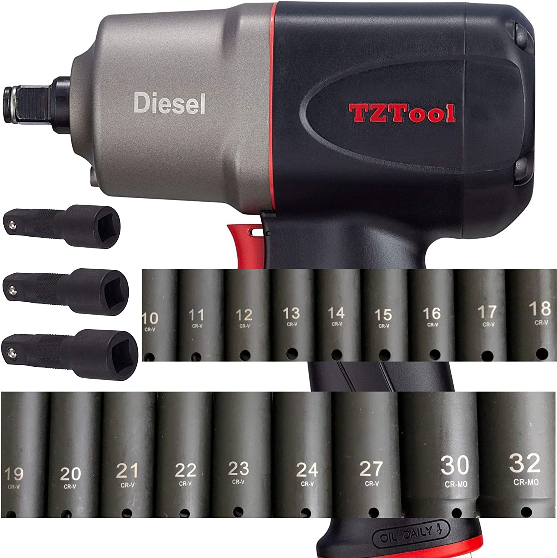 TZTool - Atornillador de impacto (1/2