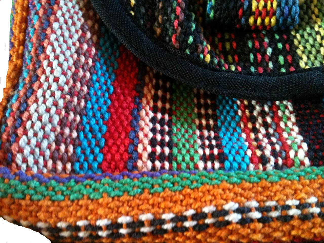 TERRAPIN Feria de Funky brillante multicolor de Nepal Bumbag ...