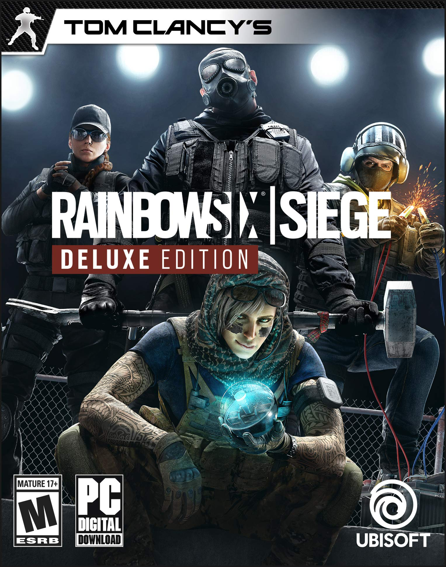 Tom Clancy's Rainbow Six Siege Deluxe Edition [Online Game Code]