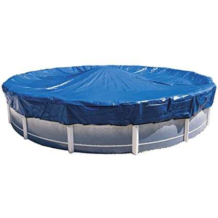 Amazon com : Hinspergers 8-Year Skirted 24-ft Round Above Ground