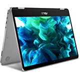 "ASUS VivoBook Flip 14 TP401CA-DHM6T 14"" Thin and Lightweight 2-in-1 HD Touchscreen Laptop, Intel Core m3-7Y30 2.6GHz Processor, 4GB DDR4 RAM, 128GB EMMC Storage, Windows 10 Home"