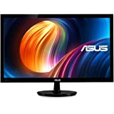 "Asus VS228H-P 21.5"" Full HD 1920x1080 HDMI DVI VGA LCD Monitor with Back-lit LED, Black"