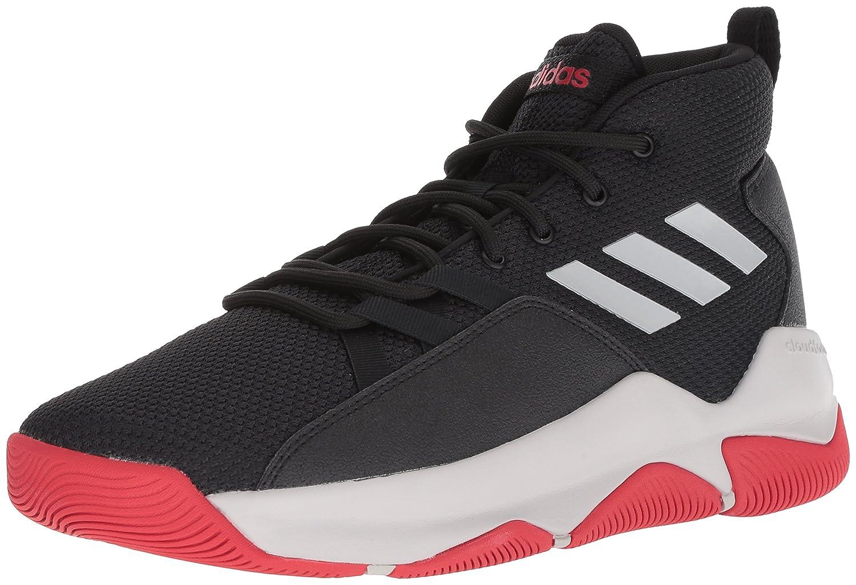 adidas Men's Streetfire Basketball Shoe B077X62QF3 9.5 D(M) US Black/Grey/Scarlet