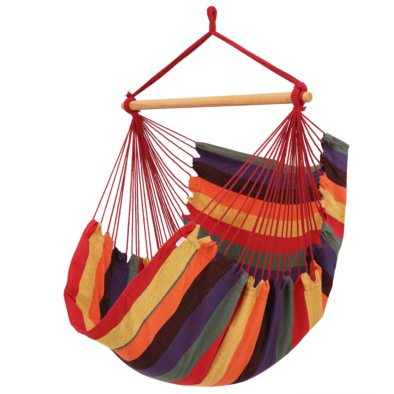 Songmics Hammock Hanging Swinging Cloth Chair Max 200 Kg Load 180 X 125 Cm Gdc185 Buy Online In Bulgaria At Desertcart Productid 48862021