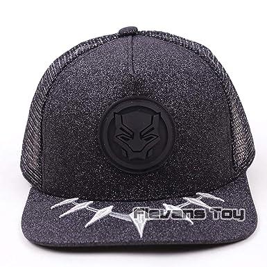 38645d26c9a Marvel Avengers Black Panther Baseball Cap Snapback Hat for Men Women Brand  Adjustable Hats Caps at Amazon Women s Clothing store