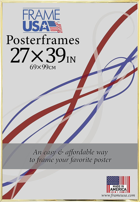 Hardboard Posterframe Frames, 27 x 39, Black Frame USA 4195