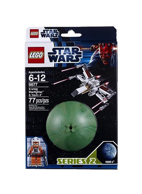 LEGO Star Wars 9677 Xwing Starfighter and Yavin 4