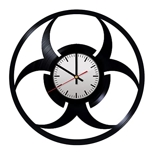 Amazon Resident Evil Logo Vinyl Wall Clock Perfect Gift And