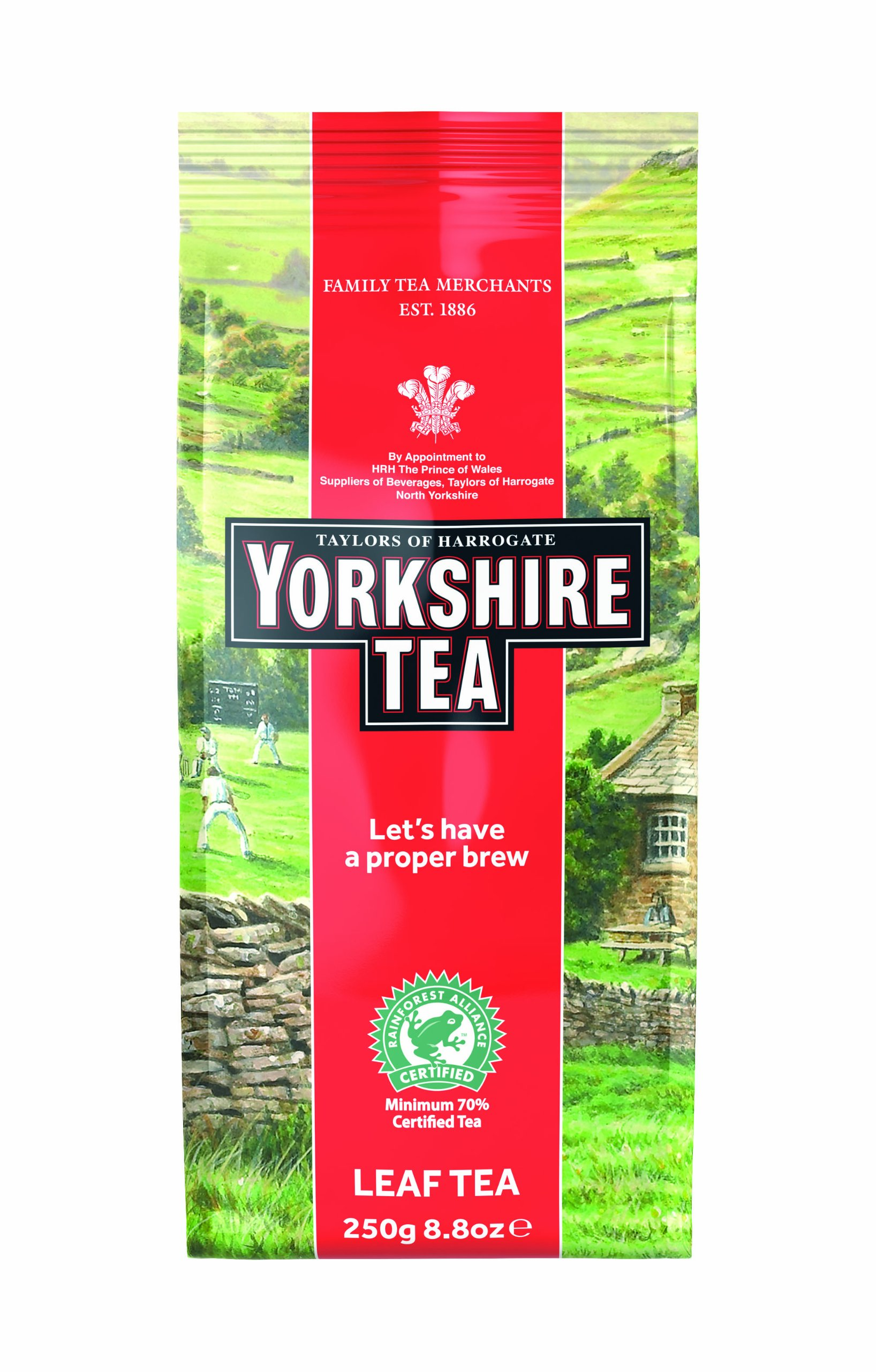 Taylors of Harrogate Yorkshire Red Loose Leaf, 8.8 Ounce (Pack of 6)