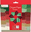 Avenue Mandarine - Carta per origami a tema natalizio, 20 x 20 cm