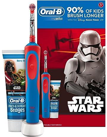 Oral-B Stages Power - Cepillo de dientes eléctrico recargable para niños 400c68fea92a