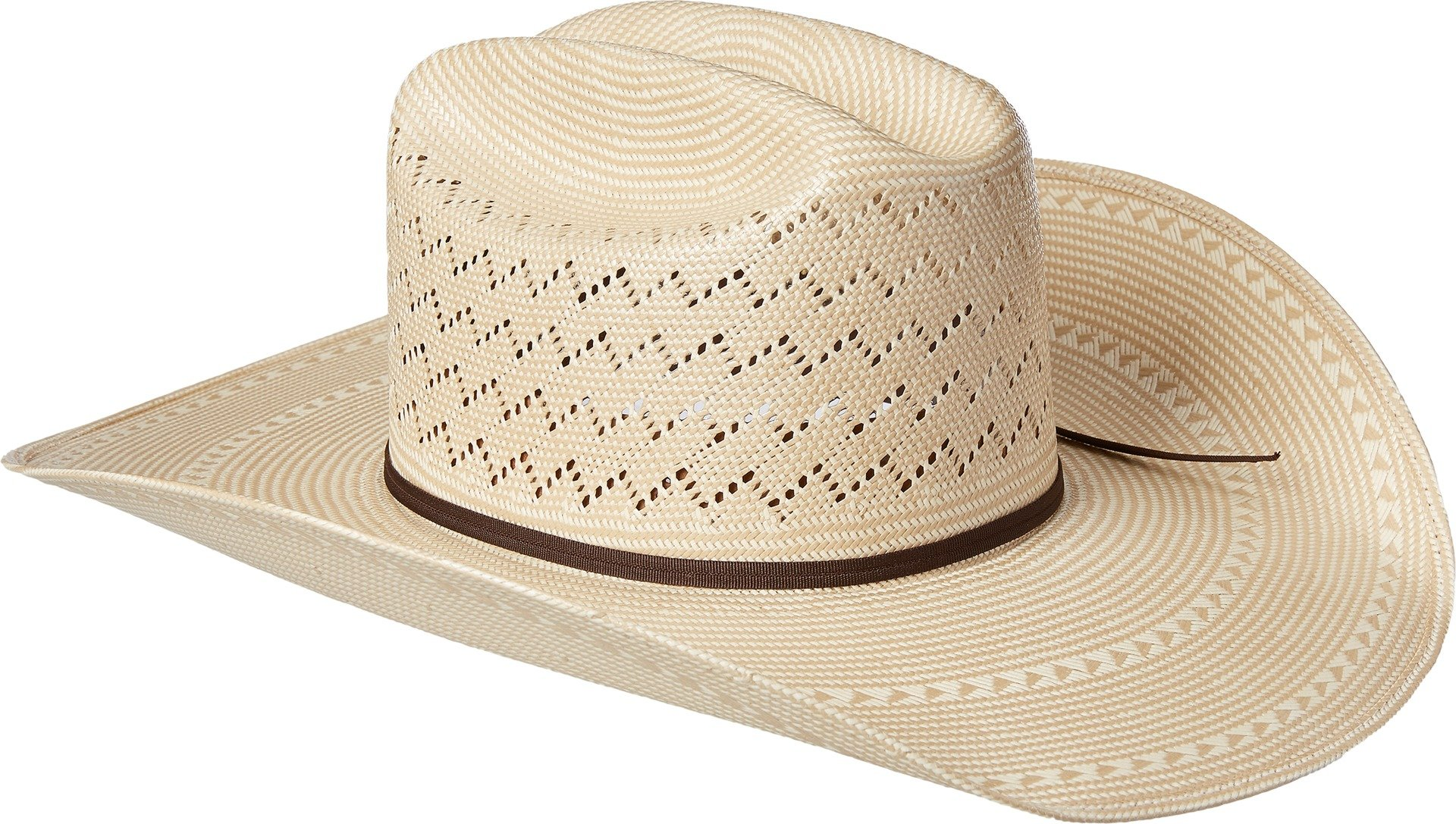 Ariat Men's 20x Cheveron Double S Cowboy Hat, Natural, 7 5/8