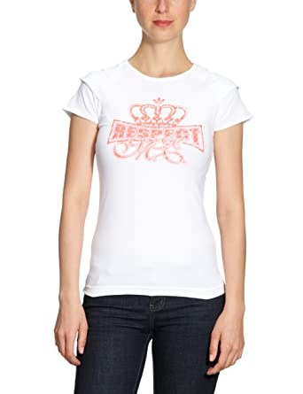 Adidas - Camiseta de running para mujer, tamaño 38, color blanco: Amazon.es: Ropa y accesorios