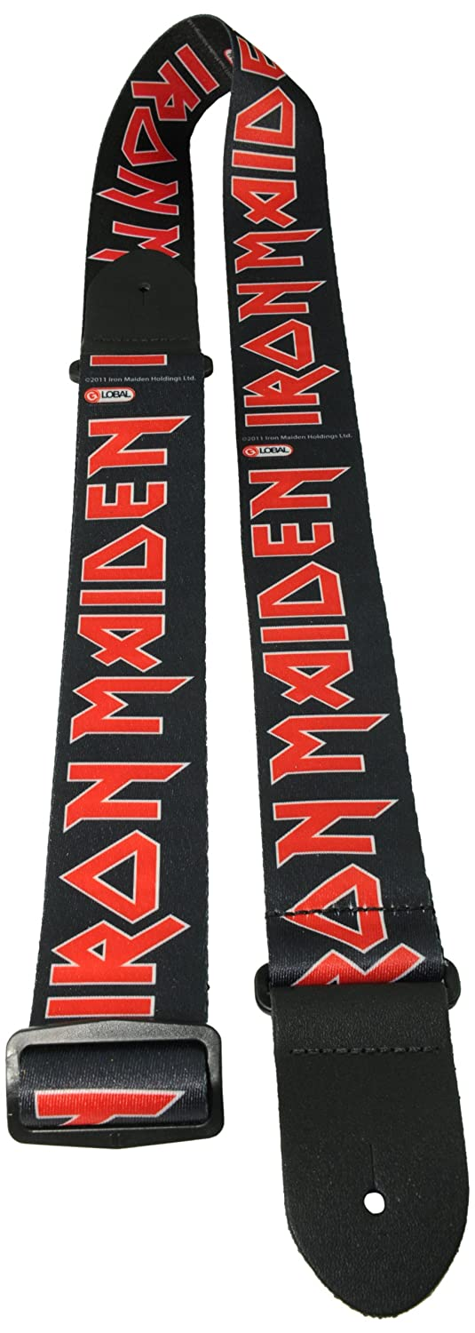 Perri 'Iron Maiden' Polyester Strap - Text Perri' s Leather Ltd LPCP-1380