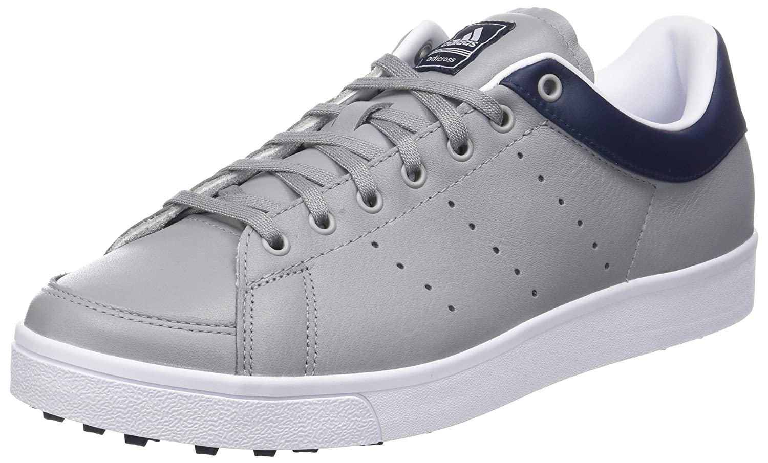 info for 9a292 11450 adidas Mens Adicross Classic-Leather Golf Shoes Amazon.co.uk Shoes  Bags