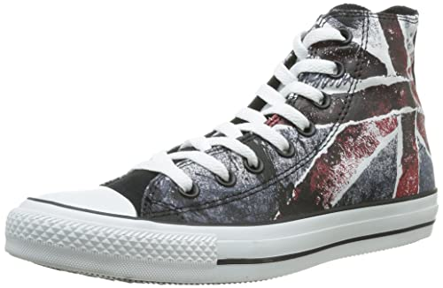 Converse Chuck Taylor All Star Adulte Destroyed Uk Flag Hi, Unisex Erwachsene Hohe Sneakers