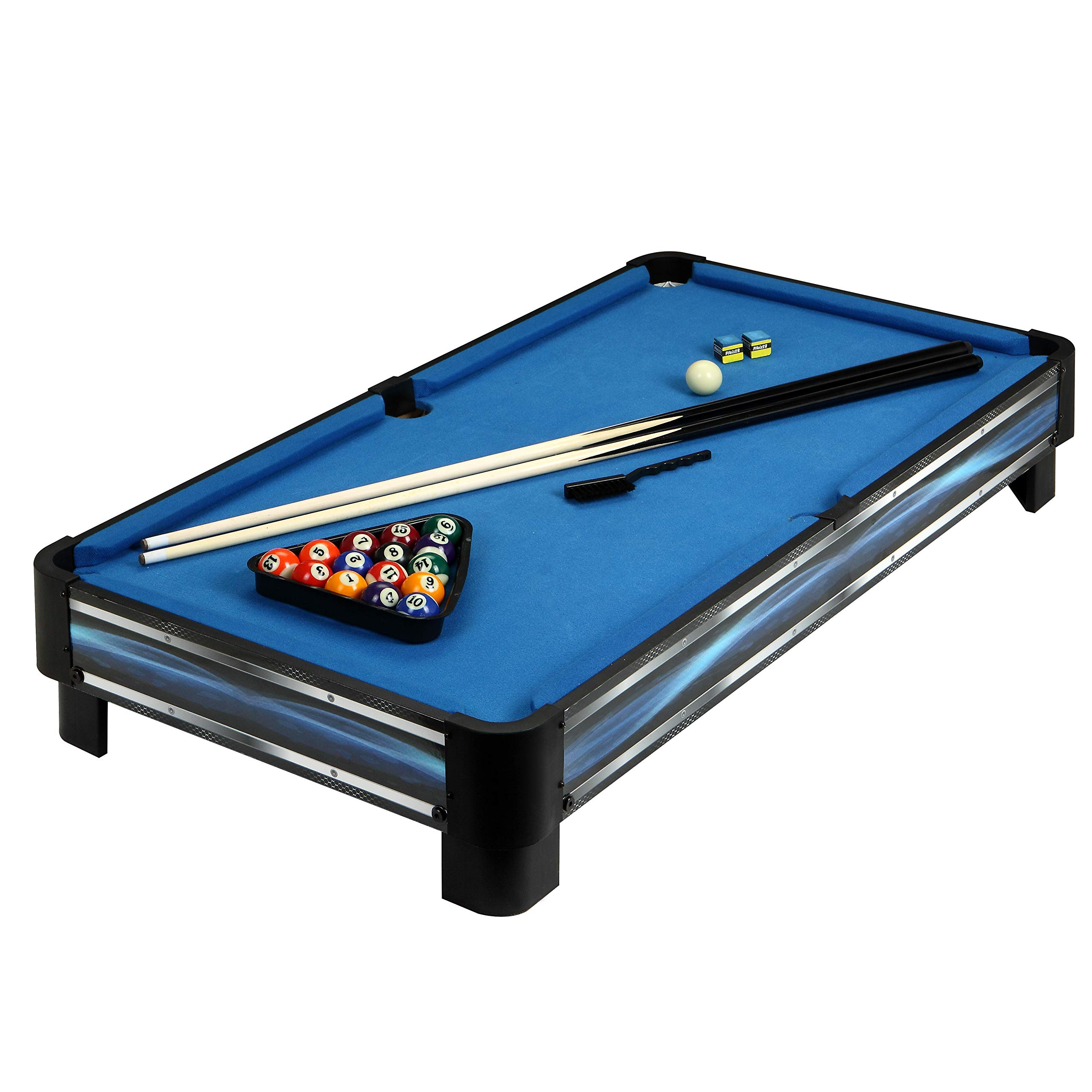 Hathaway Breakout 40-in Tabletop Pool Table, Blue by Hathaway