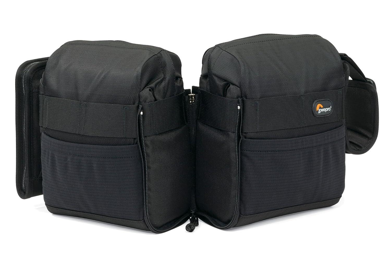 Lowepro S&F Audio Utility Bag 100 - Funda (1 kg, 153 x 83 x 190 mm, 480 x 130 x 220 mm) Negro
