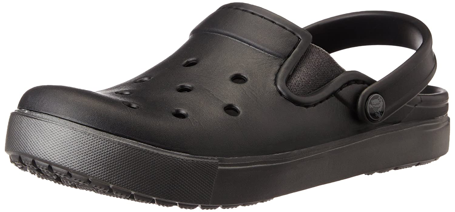 6e2b3600f75ea crocs Unisex Citilane Black and Graphite Clogs and Mules - M5W7  Buy Online  at Low Prices in India - Amazon.in