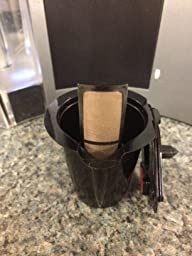 Keurig Coffee Maker Knock Off : Amazon.com: Gold Tone The Only Reusable Filter That Makes Single Cup & Carafe Size Coffee On ...