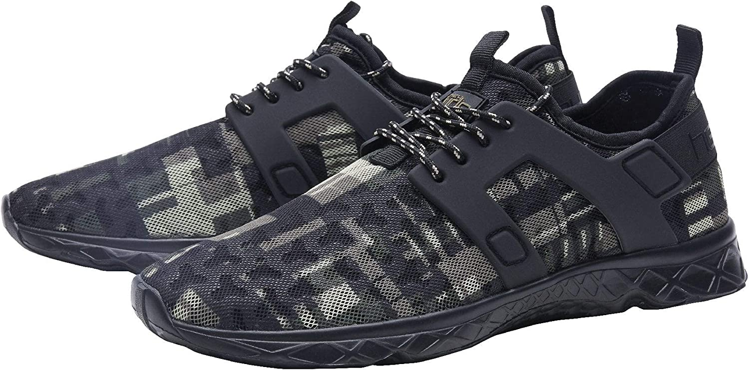 Dude Shoes Mens Mistral Navy Airflow Trainer