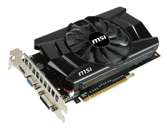 MSI N750TI-2GD5/OC GeForce GTX 750 Ti 2GB GDDR5 - Tarjeta gráfica (GeForce GTX 750 Ti, 2 GB, GDDR5, 128 bit, 2560 x 1600 Pixeles, PCI Express 3.0): ...