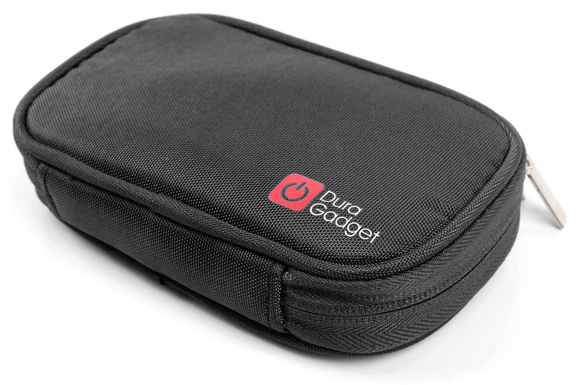DURAGADGET Black Memory Foam Case with Dual Zips - Compatible with The Garmin Drive 51LMT-S 5""